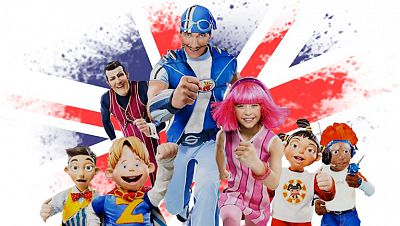 lazy town en ingles - superfriends