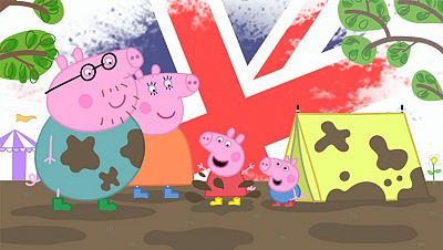 peppa pig en ingles - superfriends